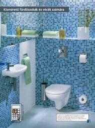 Série Varius Kisméretű fürdőszobák és vécék számára