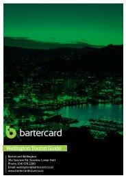 Wellington - Bartercard Travel