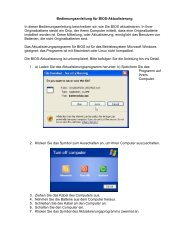 Bedienungsanleitung für BIOS-Aktualisierung In dieser ... - inkClub