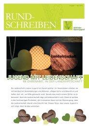 Rundschreiben der Südtiroler Bauernjugend Nr. 01 / 2014