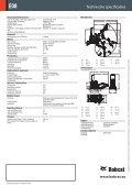Specificaties Graafmachine E08 - Bobcat.eu - Page 2
