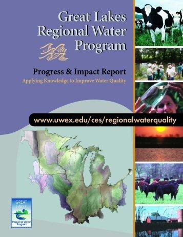 Great Lakes Regional Water Program Great Lakes Regional Water