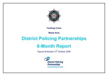 Moyle 6 month DPP report 2008/09 - Police Service of Northern ...