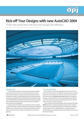 AutoCAD 2004 v2.qxd - Excitech