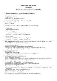 Sprawozdanie merytoryczne - Wyszukiwanie Organizacji Pożytku ...
