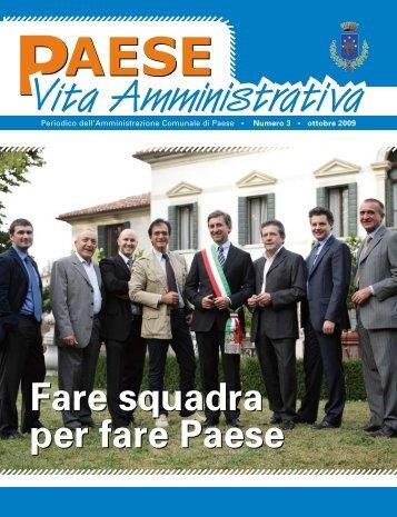 Ottobre 2009 (PDF 1,47Mb) - Comune di Paese