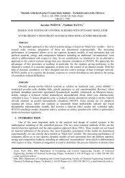 Sborník vědeckých prací Vysoké školy báňské ... - Transactions