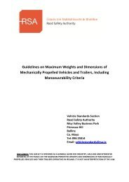 Guidelines on Maximum Weights and Dimensions of Mechanically ...
