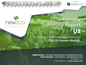 2012 Country Summary Report US - Newzoo