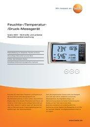 Feuchte-/Temperatur- /Druck-Messgerät - Aura Nord