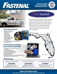 Local stocking of UF inventory at your nearest ... - UF Purchasing