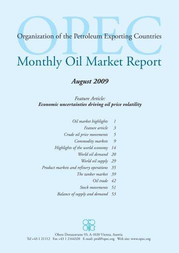 Monthly Oil Market Report - OPEC