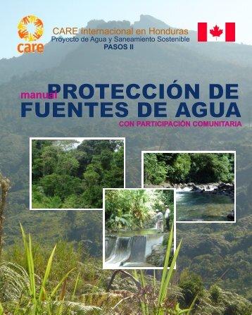 Protección Fuentes de Agua - Pasos Honduras