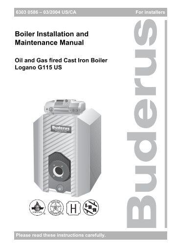Boiler Installation: Triangle Tube Boiler Installation Manual