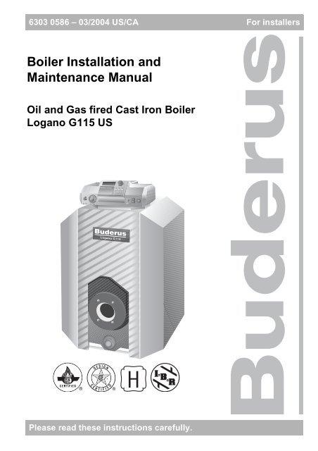 Superb Boiler Installation And Maintenance Manual Heating Help Wiring Digital Resources Honesemecshebarightsorg