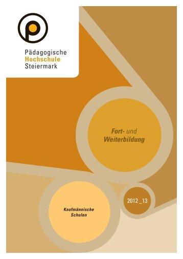 Fort- und Weiterbildung - Pädagogische Hochschule Steiermark