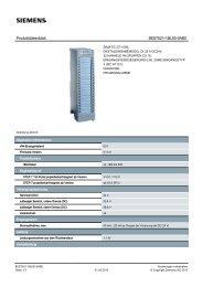 Product data sheet 6ES7521-1BL00-0AB0 - TP Automation e.K.