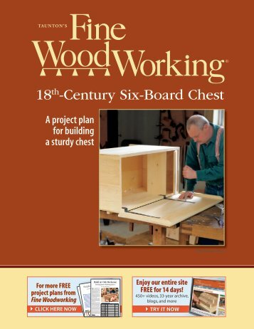18th-Century Six-Board Chest - Fine Woodworking