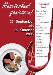 Gourmet Tour