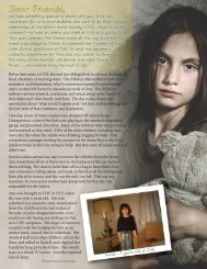 Dear Friends, - Children's Home Society
