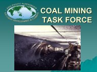 COAL MINING TASK FORCE - Asia-Pacific Partnership on Clean ...