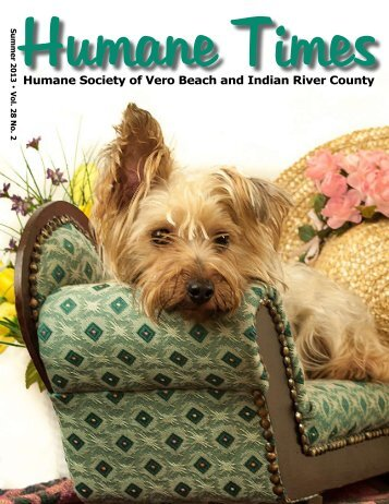 Winter-Spring, 2013 - Humane Society of Vero Beach & Indian River ...