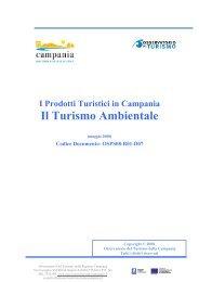 I prodotti turistici in Campania. Il turismo ambientale - ONT ...