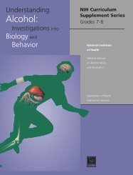 Understanding Alcohol: Investigations into Biology and Behavior