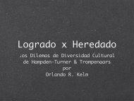 Los Dilemas de Diversidad Cultural de Hampden-Turner ...