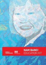 EDUCATION KIT NAM BANG! - Casula Powerhouse