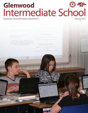 GIS Newsletter - Glenwood Intermediate School