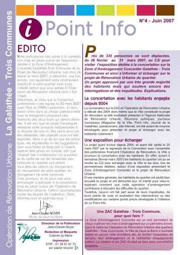La Galathée - Trois Communes - Deuil-la-Barre