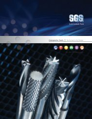 Solid Carbide Tools - SGS Tool Company