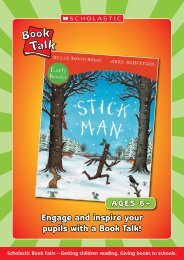 Book Talk - Stick Man Early Reader - Scholastic