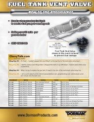 2700083 Fuel Tank & Rad Fan2:2700083 Fuel ... - Dorman Products
