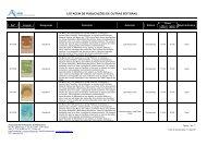 listagem de publicações de outras editoras - Associação de ...