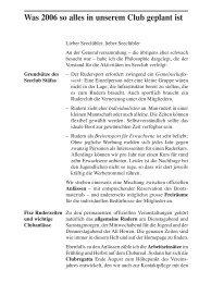 Stüürbord Ausgabe 2006-01 - Seeclub Stäfa