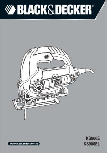 KS900E KS900EL - Black & Decker