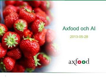 Axfood 2010 - GS1