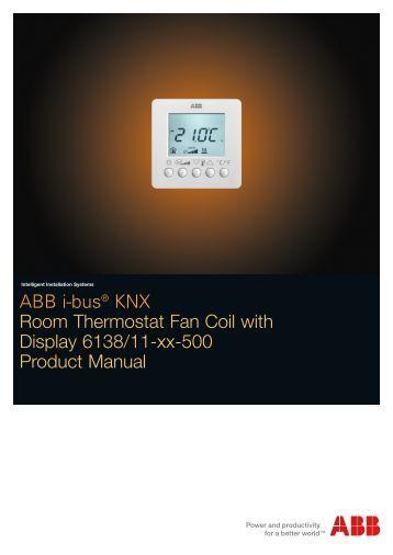Electronic Control Panel For Fan Coils Aermec