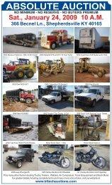 ABSOLUTE AUCTION - Tritech Auctions, Inc.