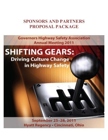 Download Proposal - Governors Highway Safety Association