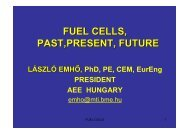 because fuel cell