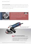 Professzionális kék elektromos kéziszerszámok ... - Bosch - Page 6