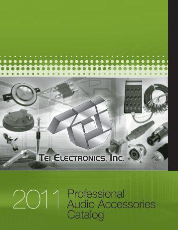 2011Professional Audio Accessories Catalog