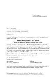 Marathon de lettres 2009, du 7 au 13 décembre Semaine de ...