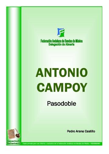 Antonio Campoy - P. Arana Castillo - Mundo Musical