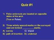 Quiz #1