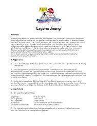Lagerordnung - Jugendfeuerwehr Hamburg