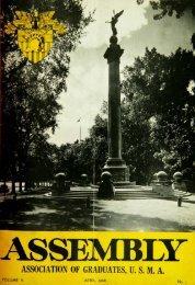 anr ASSOCIATION OF GRADUATES, USMA - USMA Library Digital ...